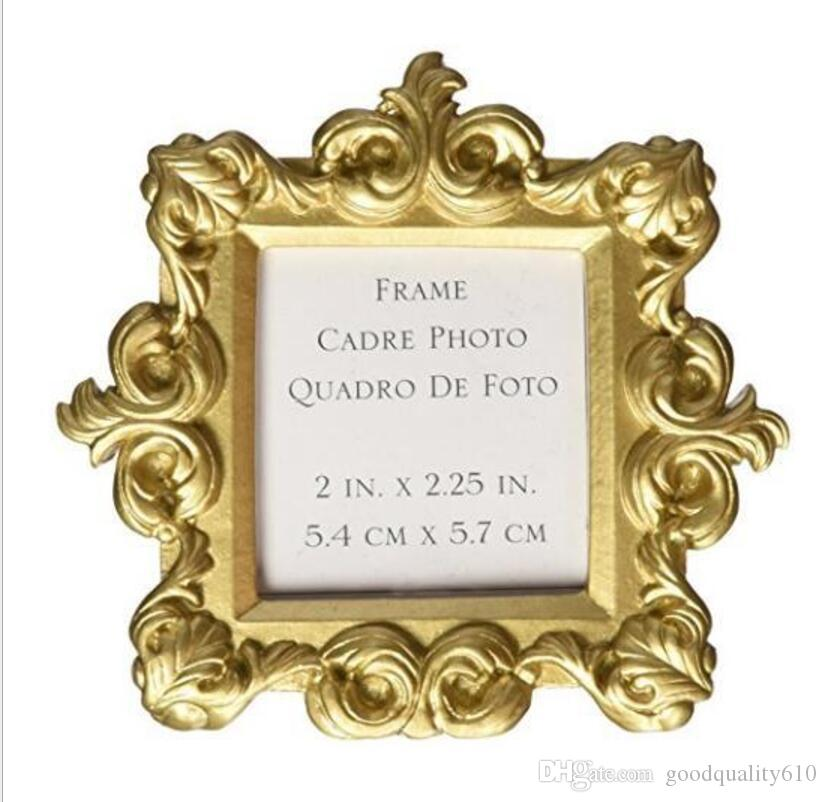 Gold Baroque Mini Photo Frame For Wedding Baby Shower Party Birthday