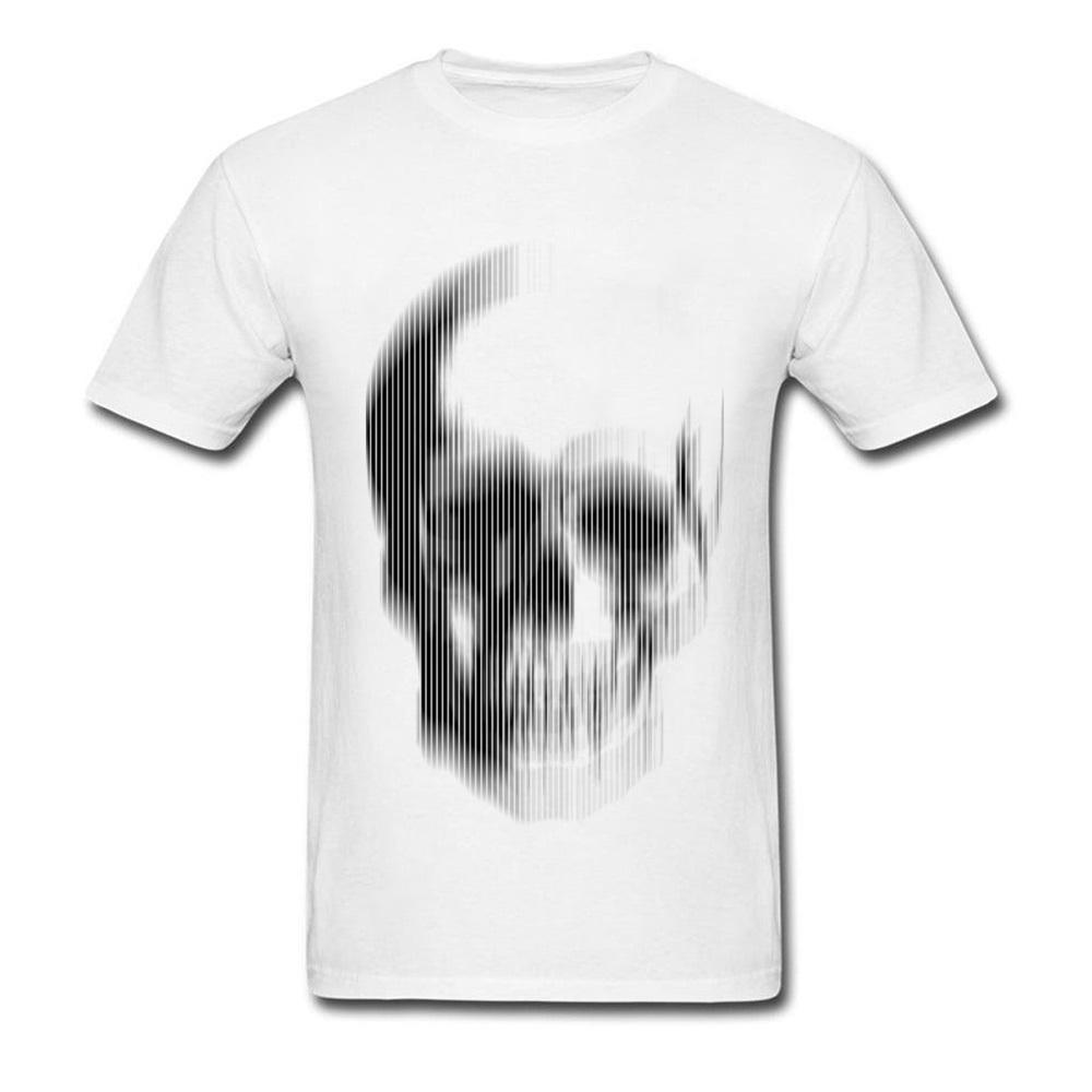 Savage Thieves Skull Tshirt Cool Motion Blur Skull Art T Shirts For Men  2018 New Trendy Hot Sale Summer T Shirt Fashion