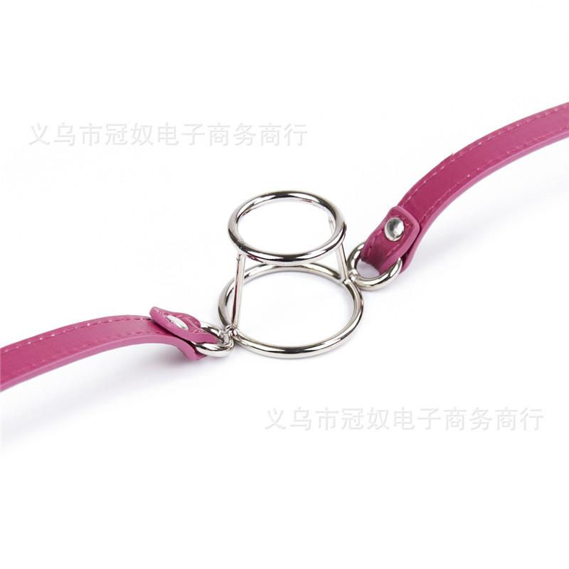 Erotic Products Deep Throat Double Round Open Mouth Gag Slave Cosplay Bondage Adult Games Sex Toys