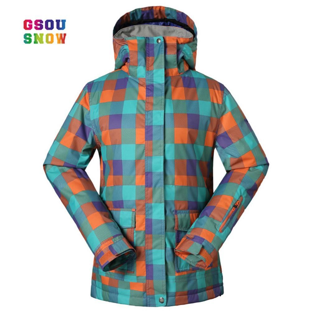 cb1b2f806c 2019 GSOU SNOW New Ski Jackets Women Winter Style Ladies Professional  Snowboard Jacket Warmth Thicken Waterproof Breathable Fashion From Jinzoug