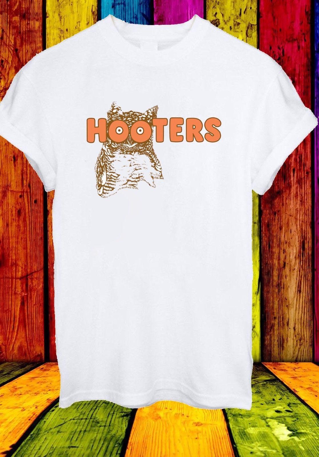 cbdd8ad85 Hooters Owl Boobs America Usa Waitress Bird Logo Men Women Unisex T Shirt  355 Cool Casual Pride T Shirt Men Unisex New T Shirt Slogans Dirty T Shirts  From ...