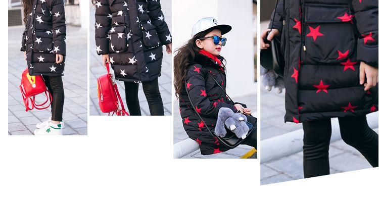 Kızlar Için ceket 4 5 6 7 8 9 10 11 12 13 Yıl Gençler Sonbahar Kış Sıcak Bebek Kız Ceket Çocuklar Gençler Giysileri Çocuk Giyim