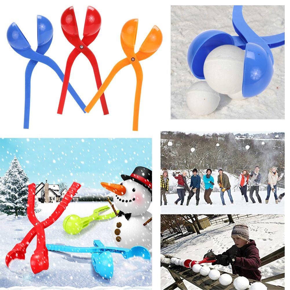 61f1361eb798 Winter Snowball Maker Sand Mold Tool Kids Toy Lightweight Compact ...