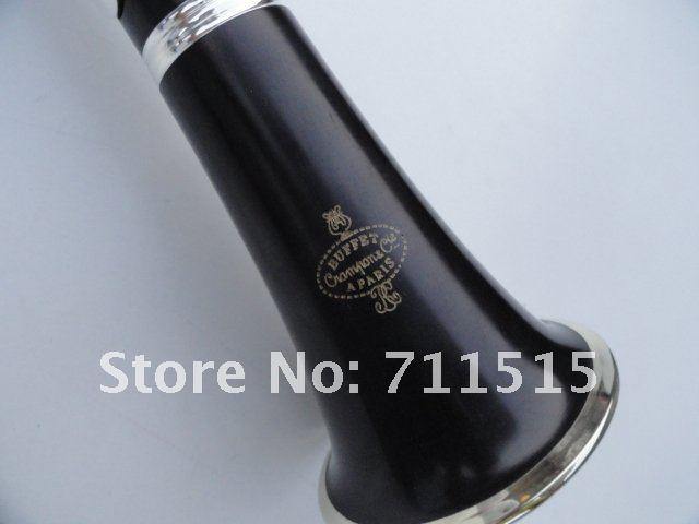 Crampon Cie Clarinet 1986 E13 Sandalwood Ebony Tube B Flat Clarinet Instruments with 16 Holes + 10 Reeds + Case