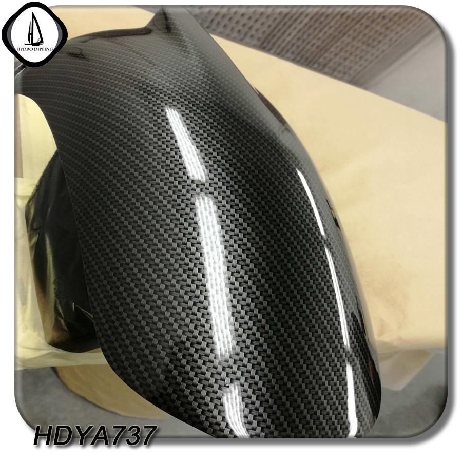 Free Shipping Carbon Fiber Pattern Liquid Image Film NO HDYA737 Water  Transfer Printing Film Size 0 5M*2M Hydrographic Supplies