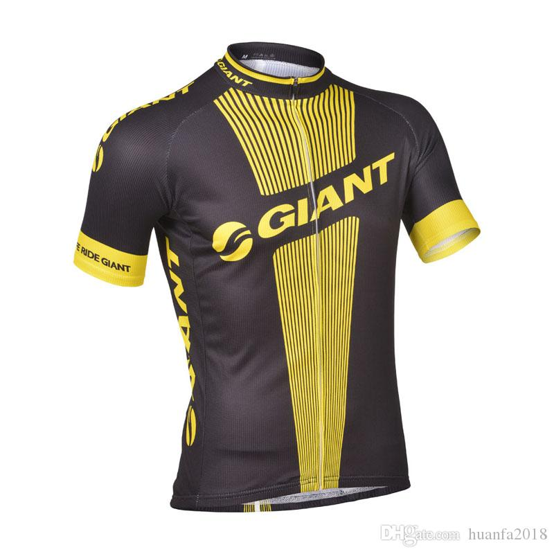 2019 GIANT Cycling Jersey Bicycle Tops Summer Racing Cycling Clothing Ropa Ciclismo Short Sleeve mtb Bike Shirts Maillot Ciclismo K060401