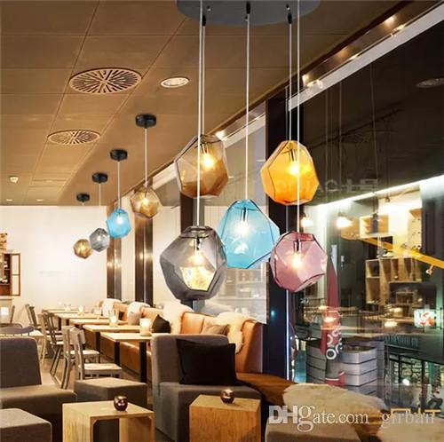 Longree colorful glass pendant lamp art light crystal glass ball longree colorful glass pendant lamp art light crystal glass ball pendant meteor rain ceiling light stair bar droplight chandelier lighting brass ceiling aloadofball Images