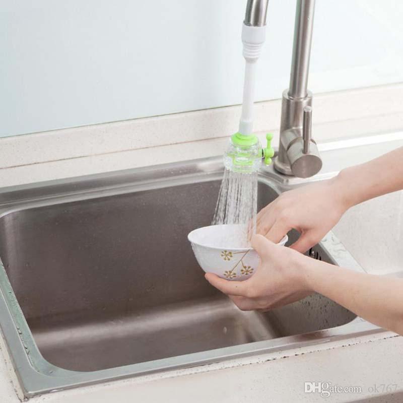 Nueva Tobera Ajustable de Ahorro de Agua Giratoria Aireador Filtro de Pulverizador Caño Accesorios Grifo de la Cocina envío gratis