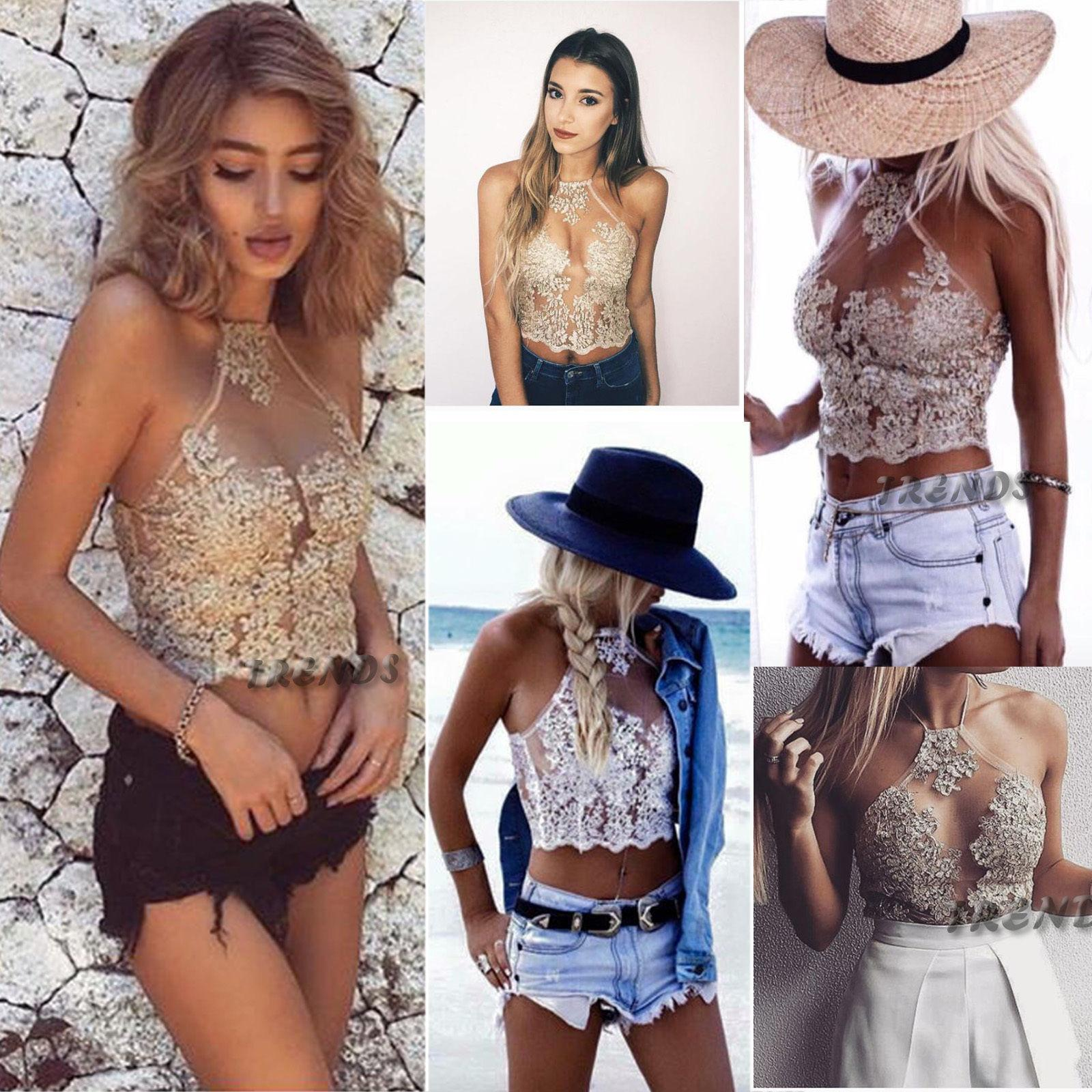 6083b3c02578d 2019 Sought After Women Lace Floral Bralette Bralet Bra Bustier Crop Tops  Cami UnPadded Tank From Philipppe