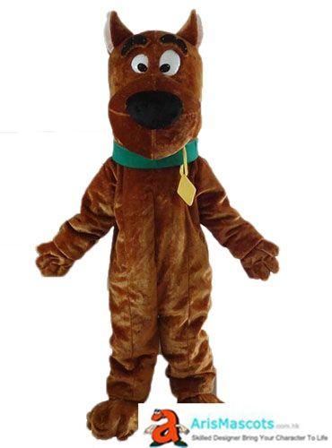 Scooby Doo Costume Dog Mascot Costume Cartoon Mascot Character