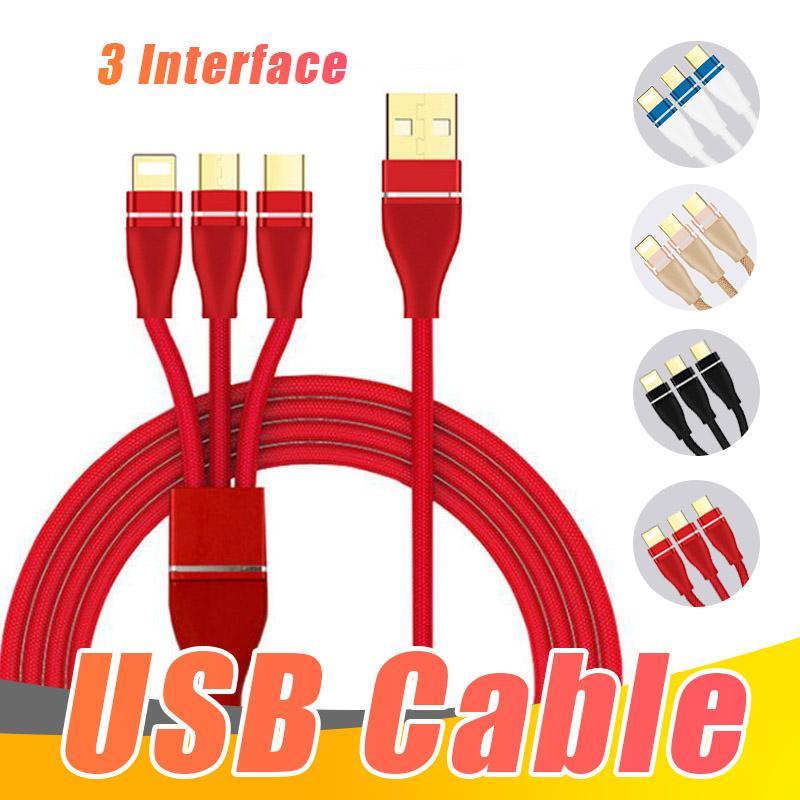 Usb Ladekabel Handy Multifunktionale 3 In 1 Handy Kabel Kabel ...