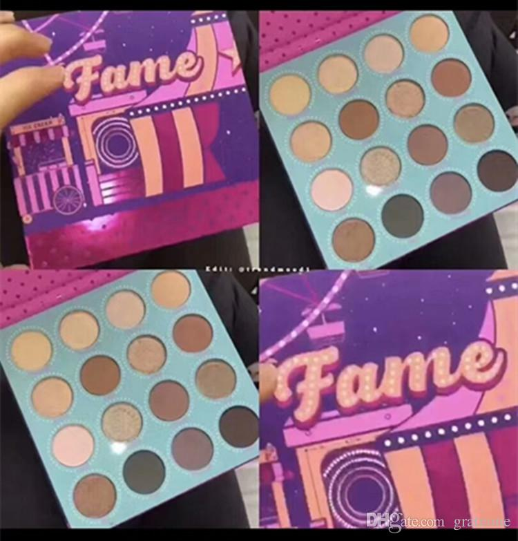 New Colourpop Cosmetics Fame Shadows 16 colour Eyeshadow Palette New in box dropshippping