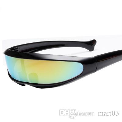 53a2d24559 2019 Sunglasses X Men Fish Shaped Space Mirror 9185 Mirror Lens Outdoor  Sports Glasses From Mart03