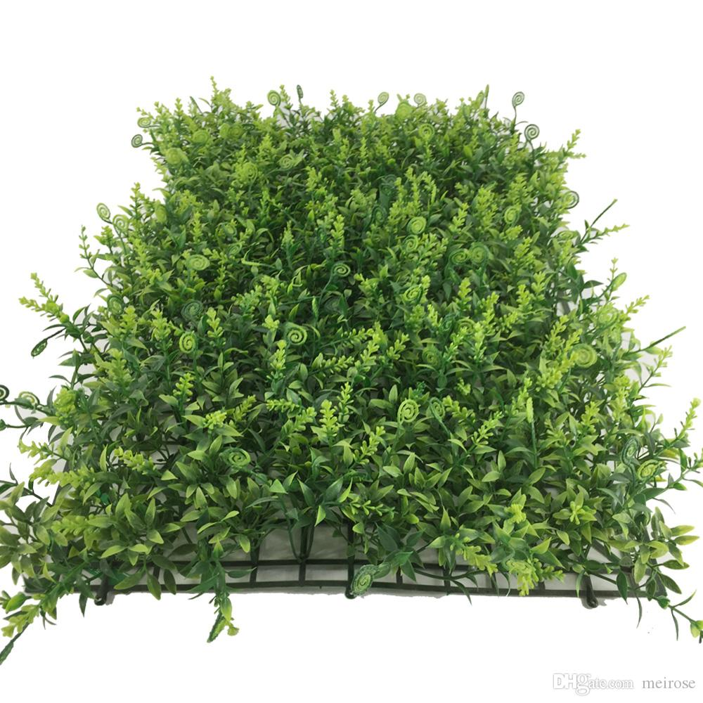 Green Wall UV Artificial Grass Turf indoor/outdoor 60cmx40cm Fake Grass Decoration Boxwood Natural & Realistic Looking Garden Lawn 125-8006