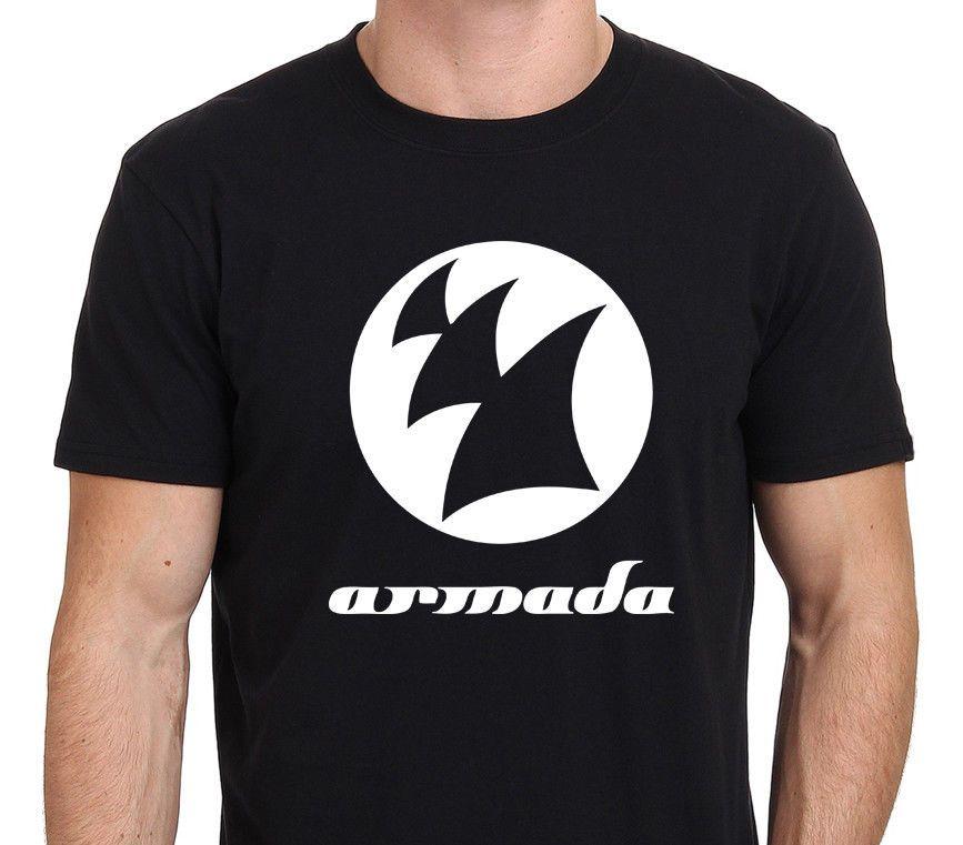 8c7baadc6 Compre Nova Moda Estilo Design Camiseta Nova Armada DJ Armin Van Buuren  Logotipo Dos Homens T Shirt Preta Tamanho S XXL 100% Algodão Top Tees De  Jinhuishen