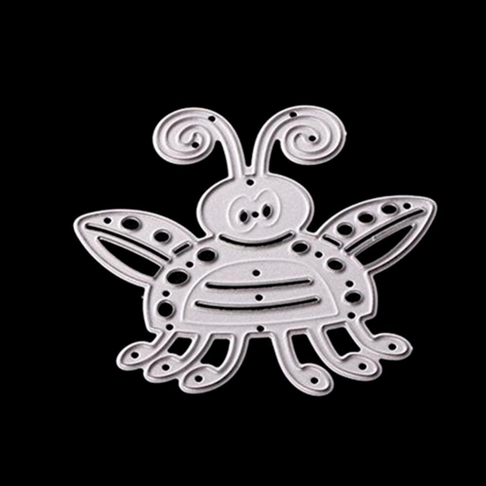 74*70mm Customized Ladybug Scrapbooking Carbon Steel Dies Cutting ...