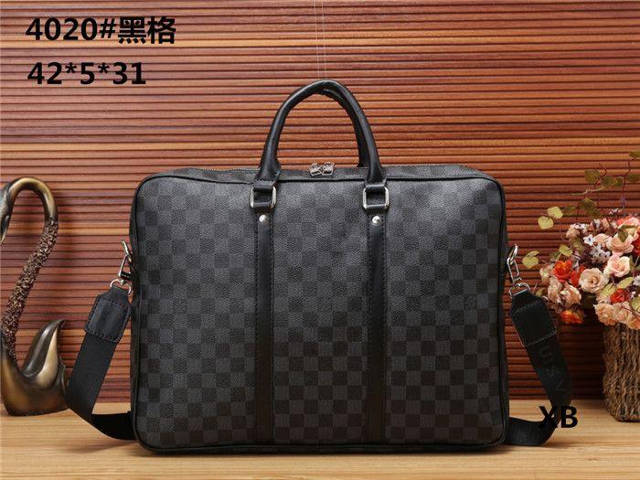 373c5f3498ce Wholesale- Designer File Package Men s Bag 14 Inch Laptop Pu Leather ...