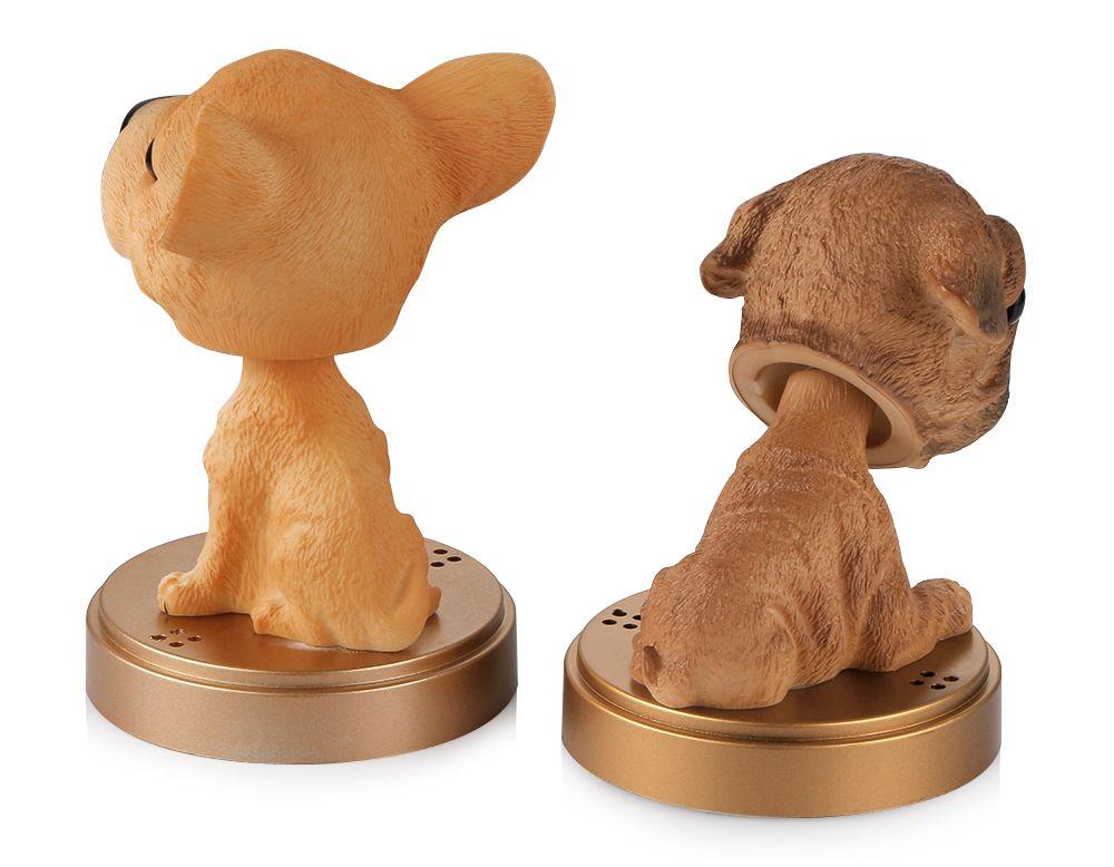 Auto Ornament Schütteln Kopf Hundepuppe Feste Parfüm Dekoration Nette Automobilinnen Das Dashboard Bobble Kopf Hundespielzeug Zubehör Zubehör