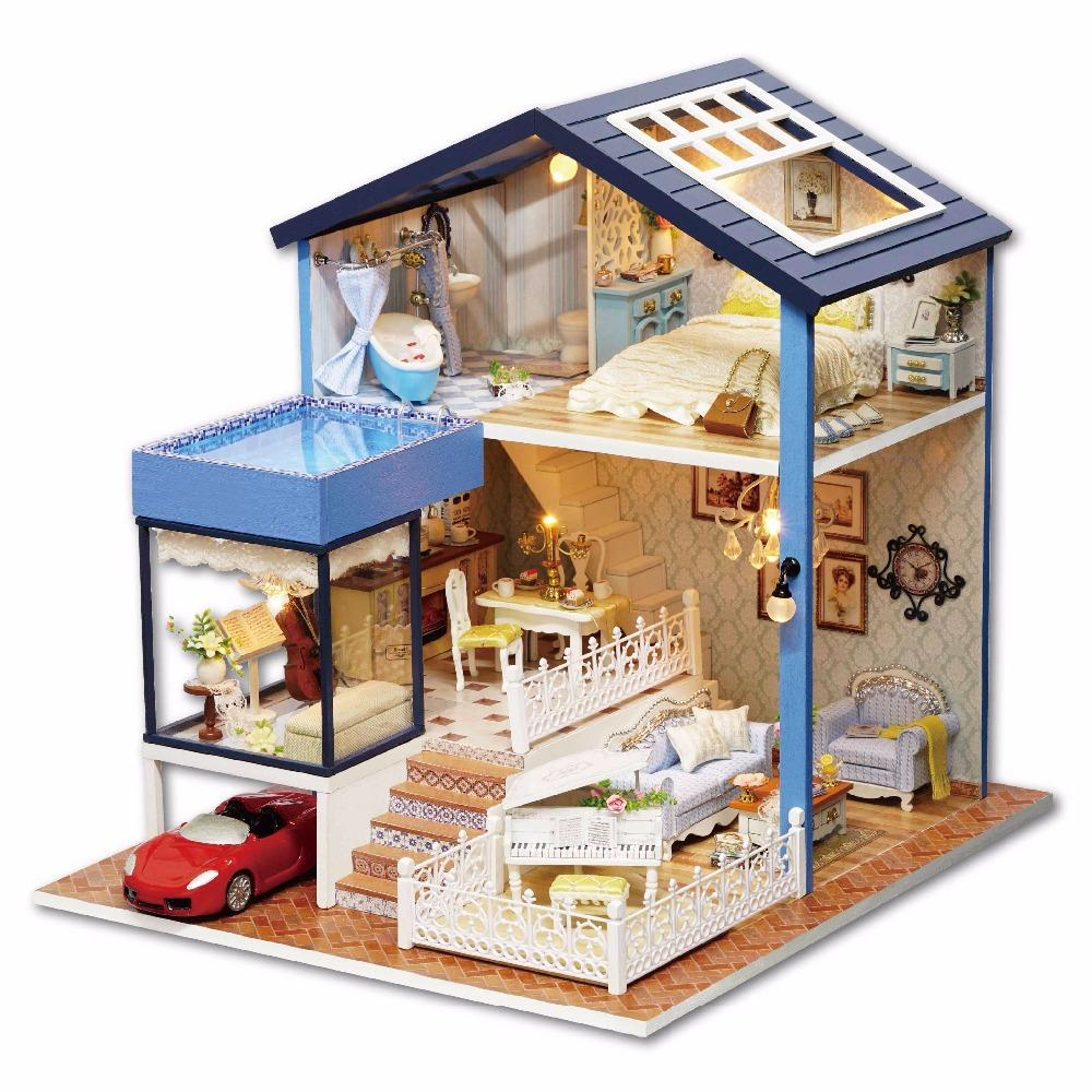 best way to dust furniture. Doll House Furniture Diy Miniature Dust Cover 3d Wooden Miniaturas Dollhouse Toys For Christmas Gift Seattle A061 18 Inch Best Dolls Way To R