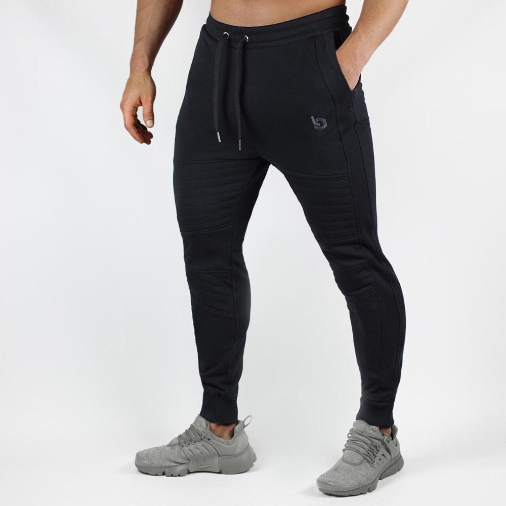 ece564d6a 2019 2018 New Spring Jogger Pants Men Cotton Patchwork Sweatpants Fitted  Sweat Pants Active Casual Trousers Track Pant From Sugarlive, $27.61 |  DHgate.Com