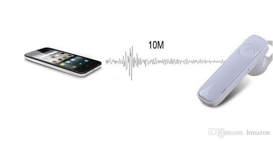 M165 Hot Wireless Stéréo Bluetooth Casque Écouteurs mini sans fil bluetooth mains libres universel pour tous les téléphones avec pakcage