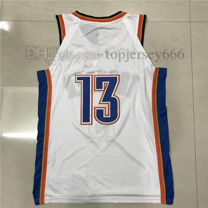 2491ed30fb09 Russell Westbrook Jersey Paul George Carmelo Anthony James Harden Chris Paul  Mens 2018 Stitched Jersey Online with  18.57 Piece on Womart 002 s Store ...