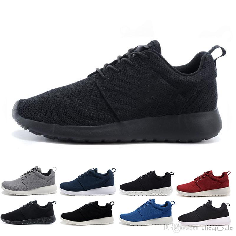 Shoes London New Run 2018 Encré Noir Blanc Course Pour Sport Nike Pistes Roshe Air Chaussures De Olympic One Hommes Baskets Femmes IyYf7g6vb