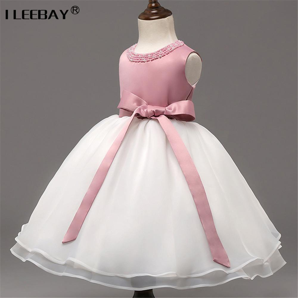 2018 Toddler Girl Princess Dresses Birthday Party And Wedding Tutu ...