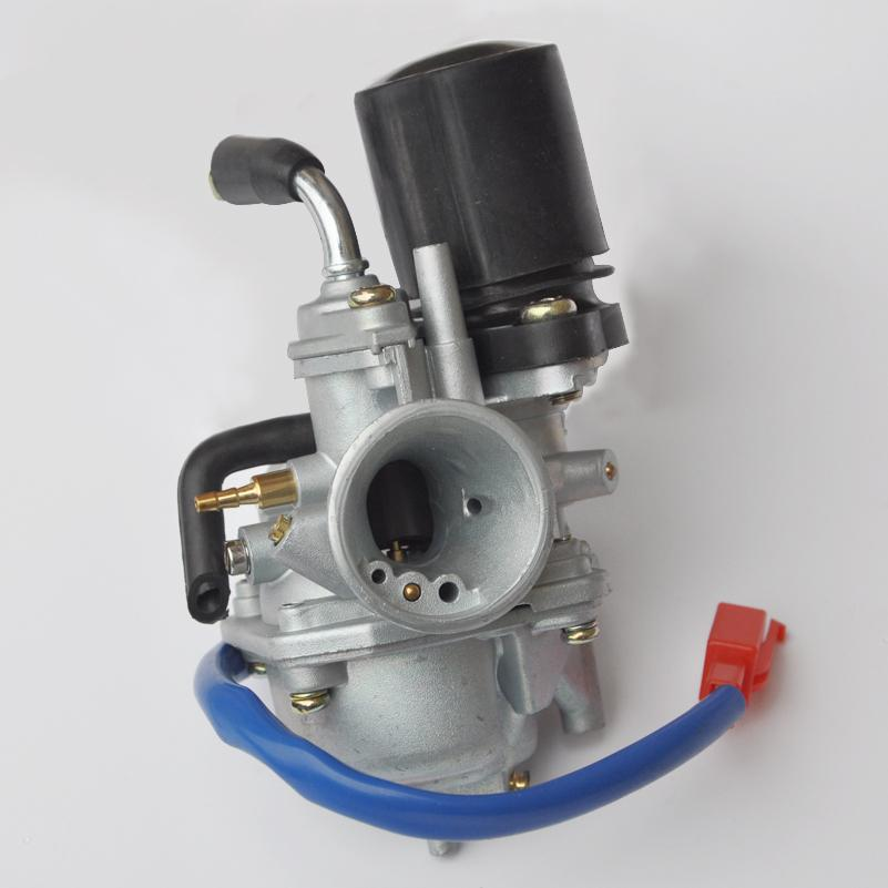 19mm Carburetor Moped Carb for 2 Stroke Piaggio Zip For Yamaha Jog on modified golf carts, fast golf carts, super golf carts,