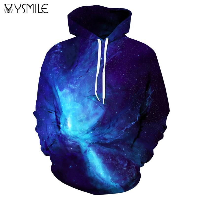 Space Galaxy Hoodies 3d Sweatshirts Men&Women Hoodie Print Star Nebula Couple Tracksuit Autumn Winter Hooded Hoody Tops Clothing