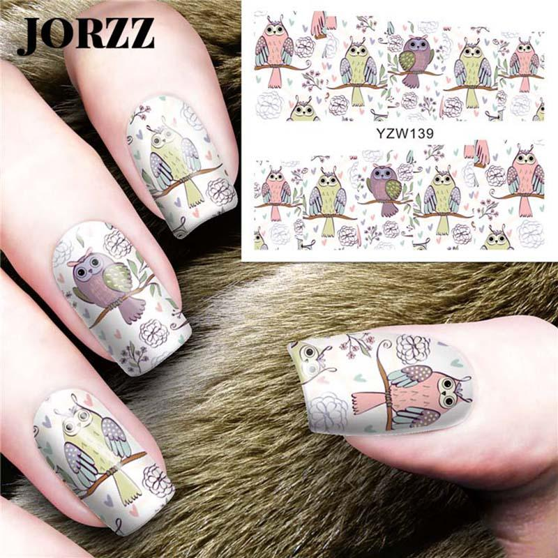 50 pezzi 3D Water Transfer Nail Art Stickers Design Decalcomanie Fresh Flower Animal Pattern Sticker Nail decorazione Manicure strumento