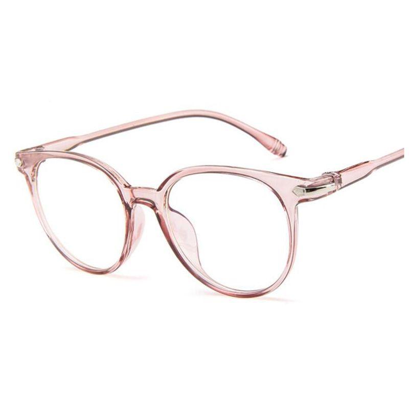 c803e87ec27 2019 2018 Fashion Women Glasses Frame Men Eyeglasses Frame Vintage Round  Clear Lens Glasses Optical Spectacle Frame From Ywsunstone