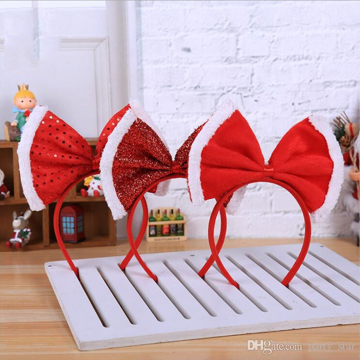 Fashion Korean Style Bowknot Head Buckle Decorations Adult Children Party Free Size Headband Supplies Personalized Birthday Hat Hats