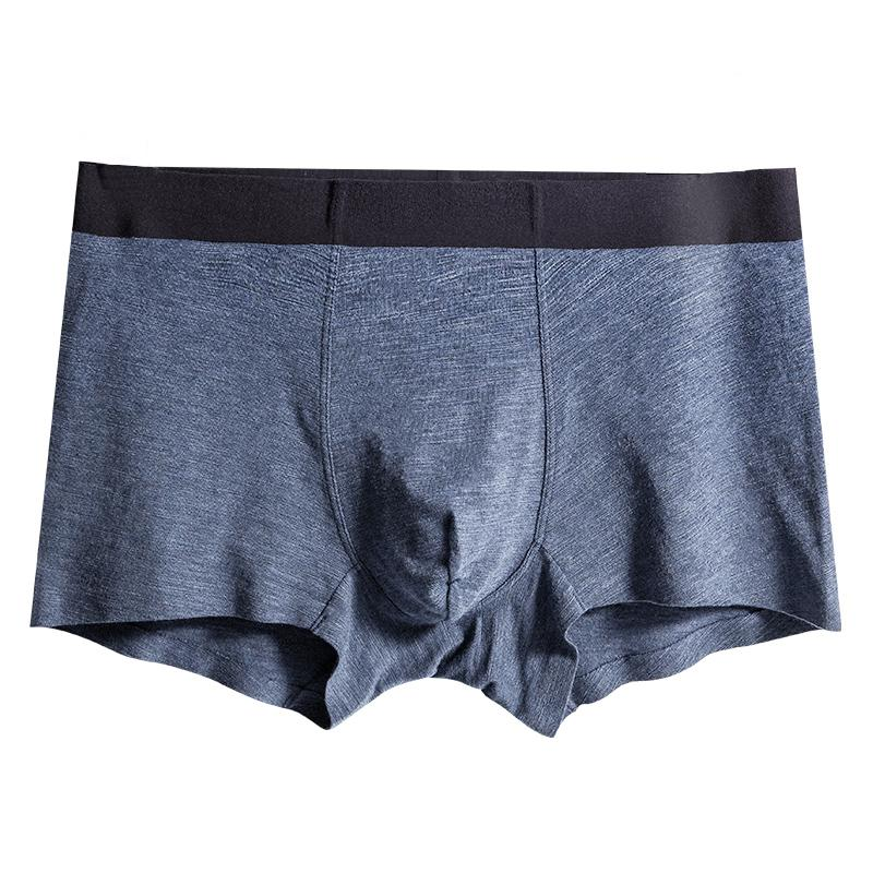 26275797b9 Boxers Men Underwear Cotton U Convex Boxer Mens Solid Seamless Shorts Pants  High Quality Soft Modal Boxers Male Underpants XXXL Boxers Cheap Boxers  Boxers ...