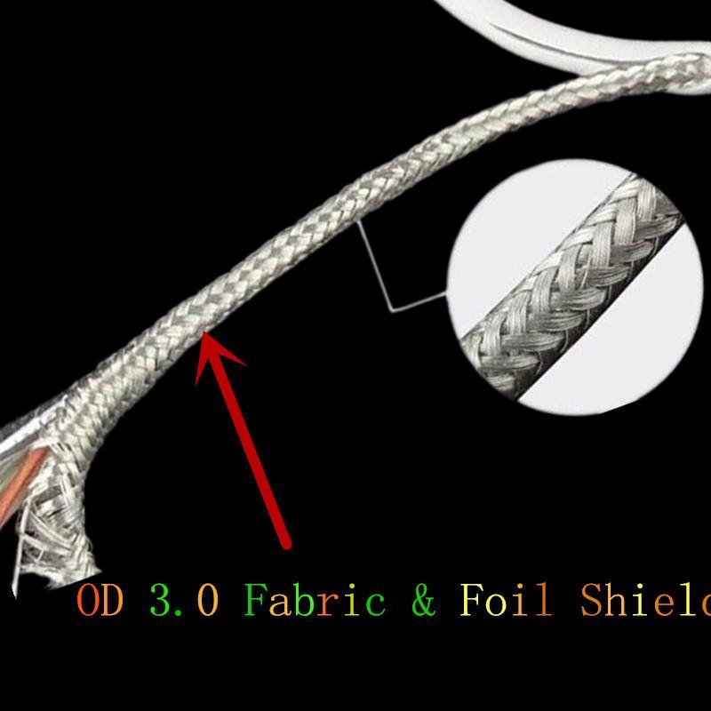 тип c кабель 1m 3ft OD 3.0 Плетеная ткань с железной металлической головкой Micro Type c USB-кабель для samsung s6 s7 edge s8 htc