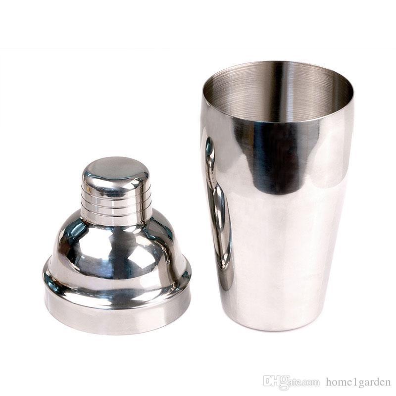 550ml in acciaio inox Cocktail Shaker Bartending strumenti da tè Cocktail Cup Mix Vino Martini Shaker lo strumento Bar Party