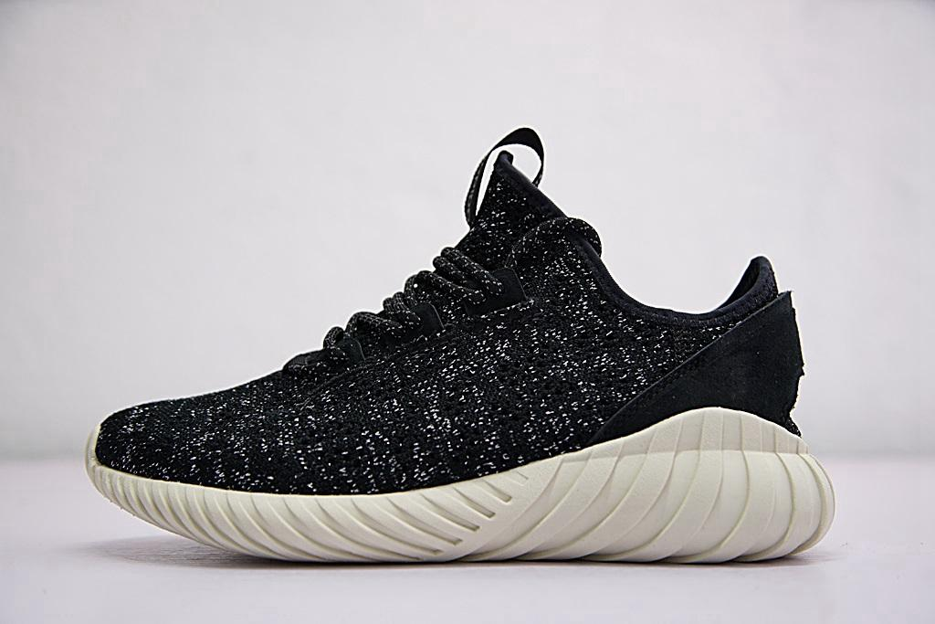 2018 Tubular Doom Sock Primeknit Shoes Men Women Tubes Samurai High Street Fashion Low Jogging Black White Top Sneaker Flat Shoes Yellow Shoes From ...