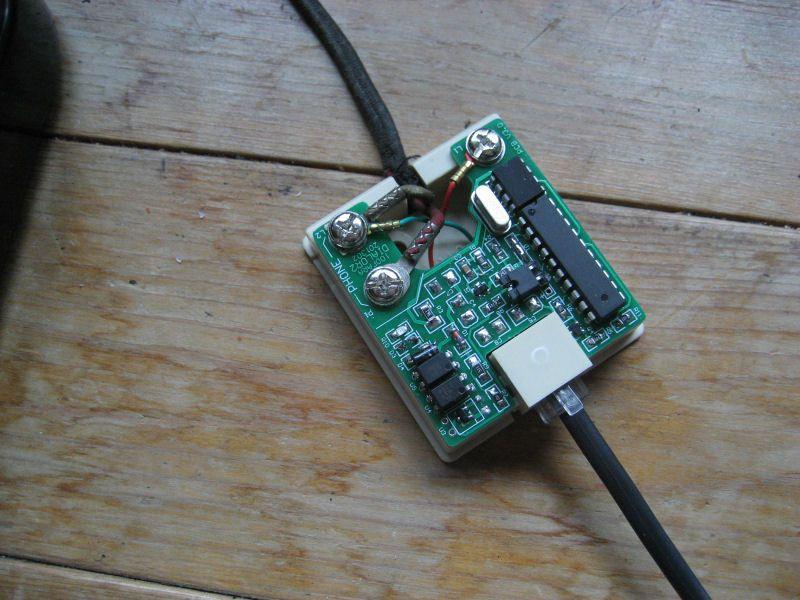 Freeshipping Pulso de transferência dual tone múltipla frequência DTMF  conversor de versão normal O velho telefone de discagem / pulso dual