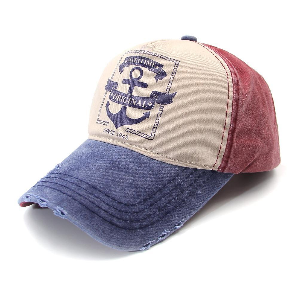 58be1a1aff620 NEW Sport Outdoor Trucker Baseball Cap Men Boy Women Lightweight Adjustable Dad  Hat Plain Caps Navy Blue Canvas Hats  AHB008 011 Headwear Flat Caps From ...