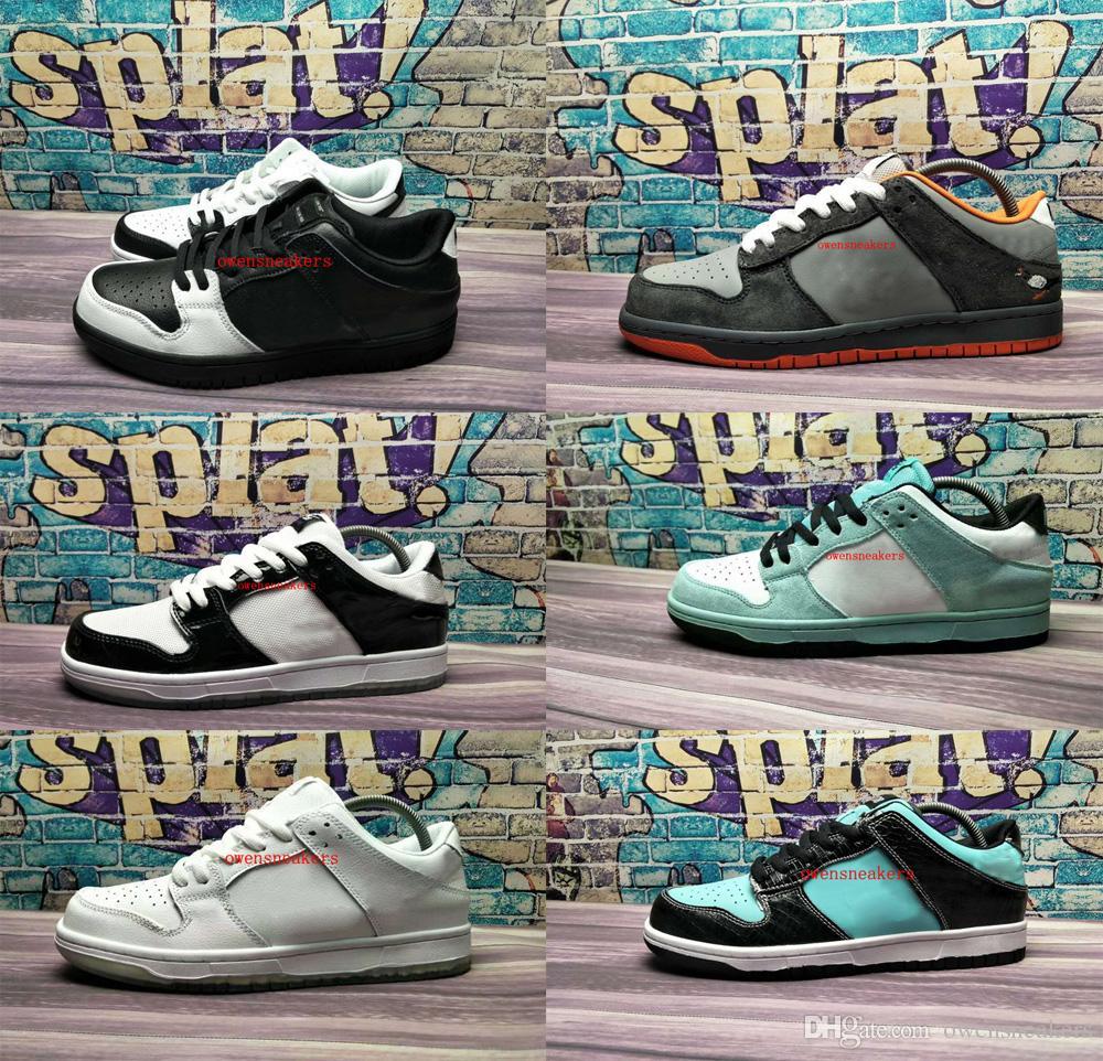 2018 New Dunks Low PRO TRD QS Tiffany Pigeon Snake Eyes Running Shoes Men  Women Sport Sneakers Running Shoes Men Running Accessories From  Owensneakers 136b7614ac92