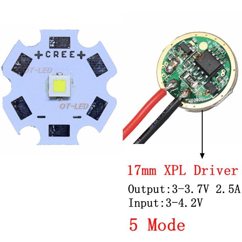 Groovy New Cree 10W Xpl Hi Xp L Hi V5 V6 Led Emitter Light Cold White Diode Wiring Digital Resources Funapmognl