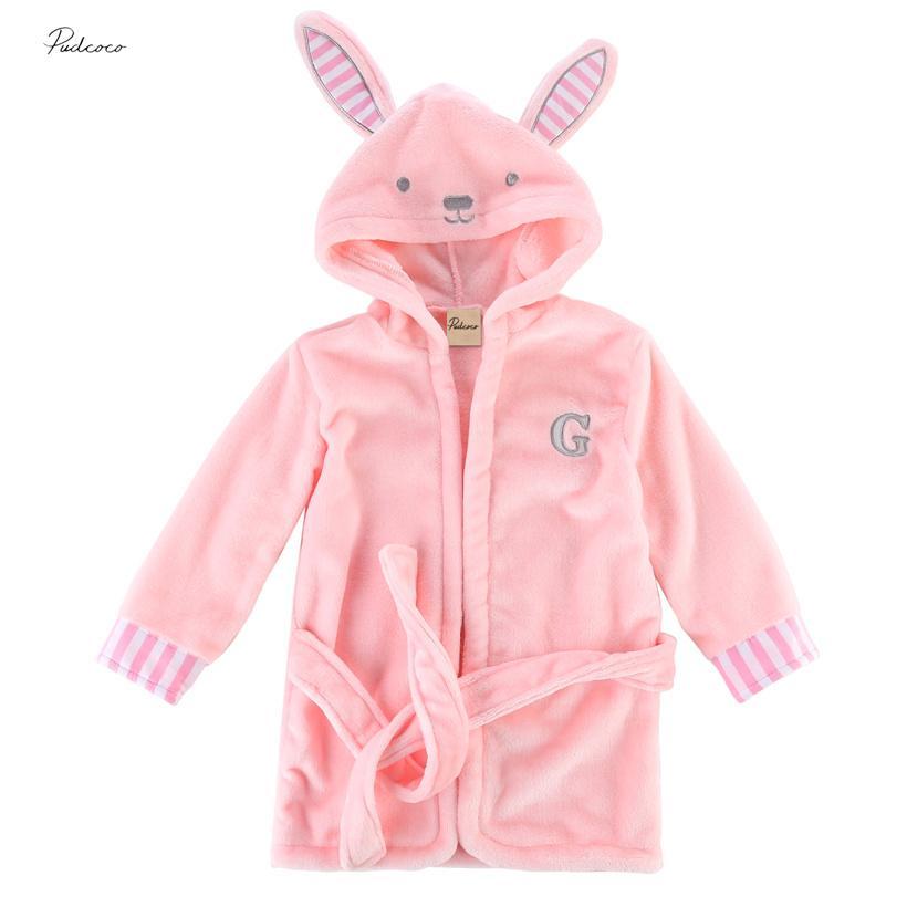 Underwear & Sleepwears Bathrobe Kids Boys Robe For Children 100% Cotton Warm Lengthen Robe Thicken Hooded Dressing Gown Men Towel Fleece Pajamas