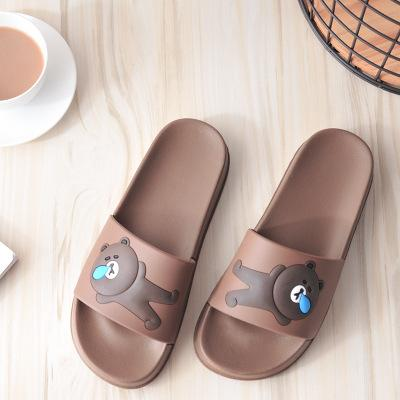 bc4c024876ad 2018 New Cute Cartoon Bear Plastic Slippers Women Home Small Sandal Slippers  Professional Slippers Wholesale Shoe Sale Suede Boots From Linxinghui2012