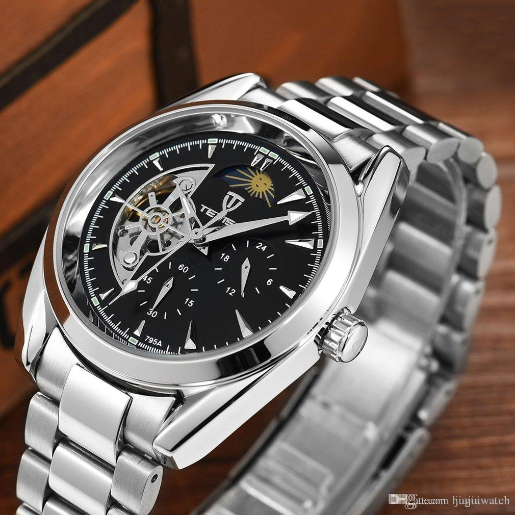 72098acb8 TEVISE Men Watches Mechanical Watch Luxury Luminous Automatic Watch ...