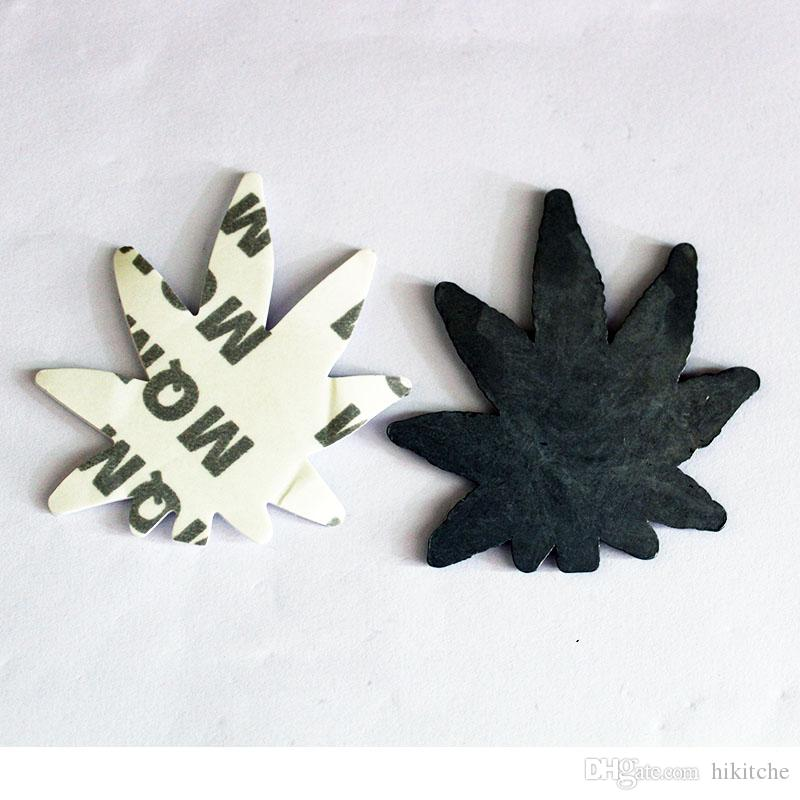 3D colorful leaf sticker metal emblem car motorcycle body tail badge for vw ford dodge etc