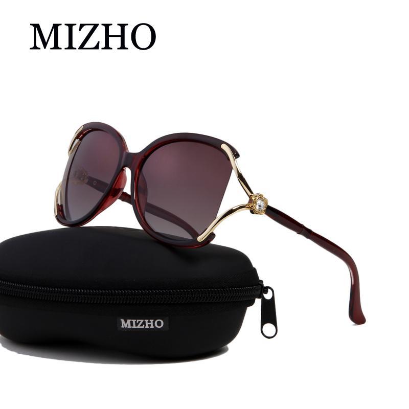 87242fdbf5 Compre MIZHO Drive Quality Sunglasses Mujeres Brand Designer Polaroid  Protección UV Original Gafas De Sol Mujer Diamond Pattern Colored A $33.91  Del Heheda1 ...