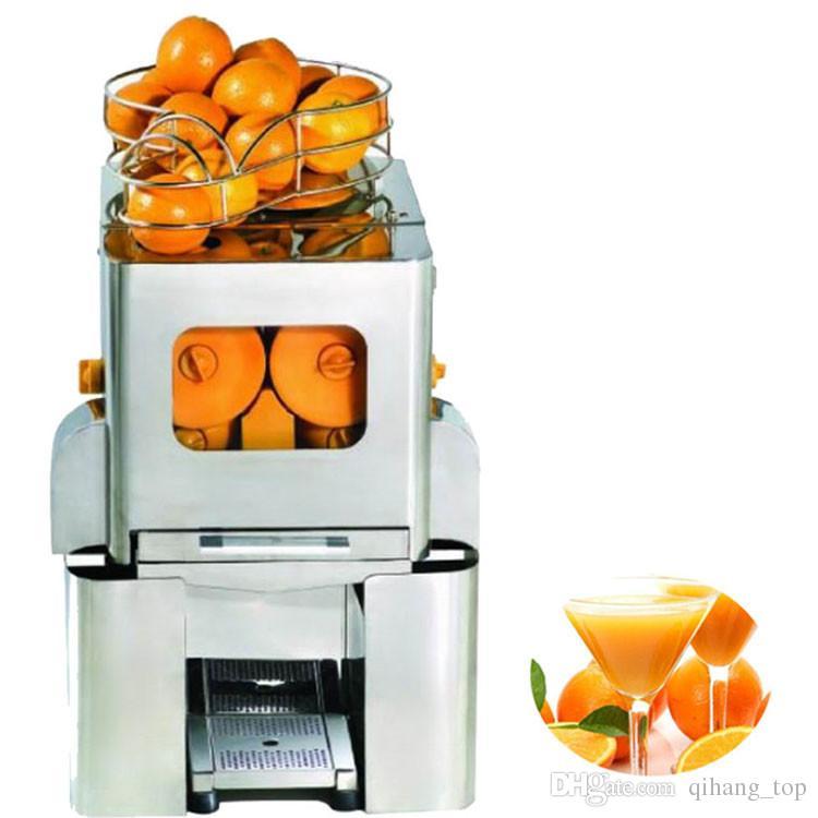 Lower Price 2000e 5 Commercial Industrial Orange Juicer Machine Price Automatic Orange Juice Squeezer With Fresh Juice