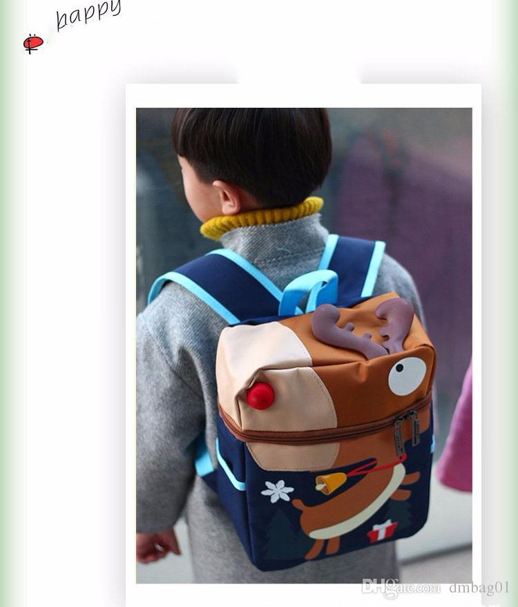 choose cartoon bear cute ultra light mochila infantil school bags for girls and boys mini child backpack