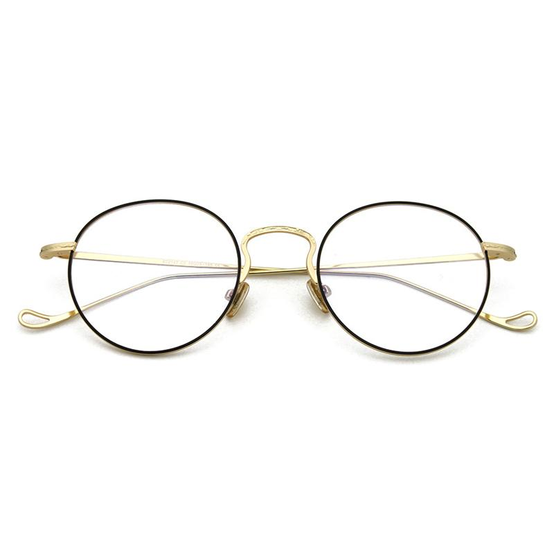 d5d48c1a22 2019 Cubojue Vintage Men S Round Glasses Women Small Eyeglasses Frame For  Myopia Diopter Optical Prescription Spectacles Nerd Retro From Xailiang