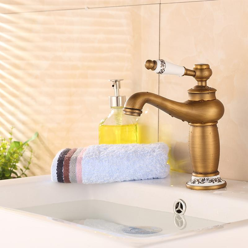 Brand Quality Type Electroplated Short Magic Lamp Basin Faucets - Best bathroom accessories brand